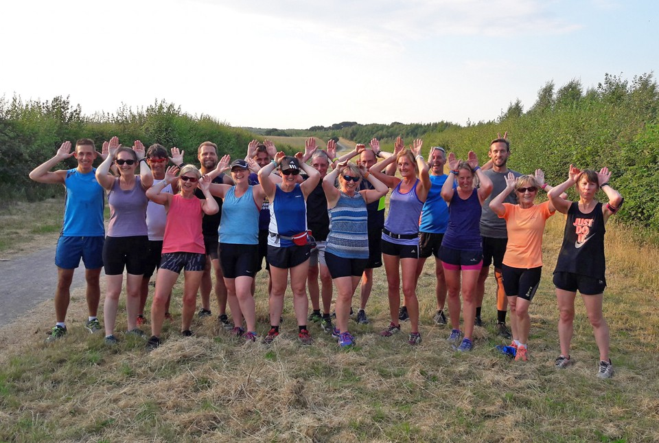 Hermitage Harriers are a friendly group of runners who enjoy the social side of life as well as running.